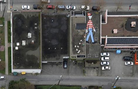 Imágenes Raras de Google Maps, Earth y Street View